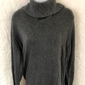 Calvin Klein XXL turtle neck sweater gray